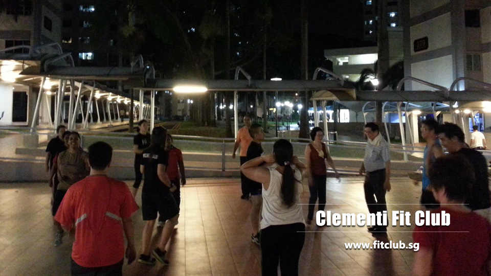 Clementi fit club Singapore