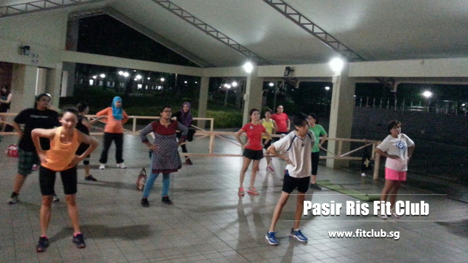Pasir Ris fit club Singapore