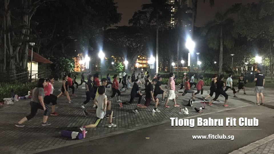 Tiong Bahru fit club Singapore