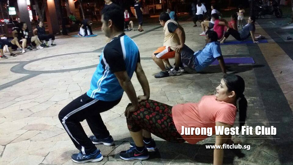 Jurong west fit club Singapore