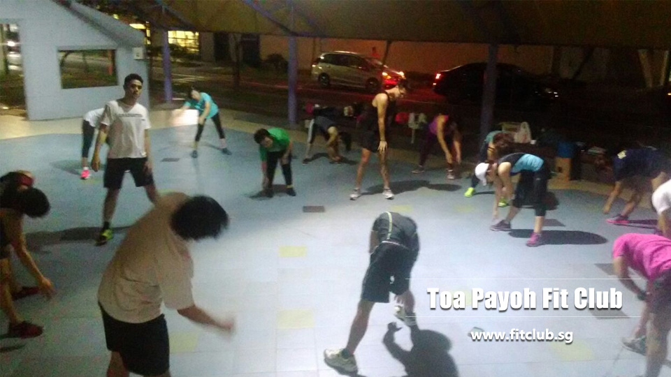 Toa Payoh fit club Singapore