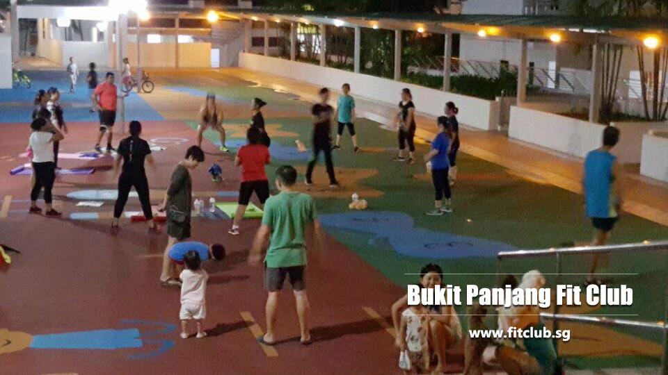 Bukit Panjang fit club Singapore