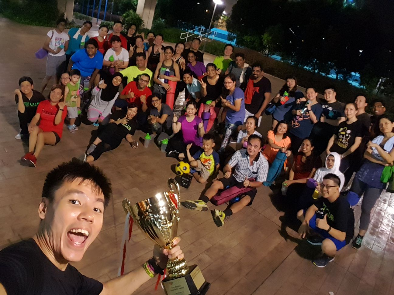 Fit Club Mast Coach Terence Tan